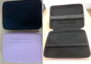 Sobre Funda Semirigido Para Netbook O Tablet Hasta 11 Rosado