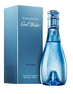 Perfume Cool Water Eau De Toilette Feminino Davidoff 100ml