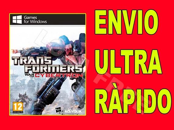Transformers War For Cybertron Pt-br - Jogo Para Computador