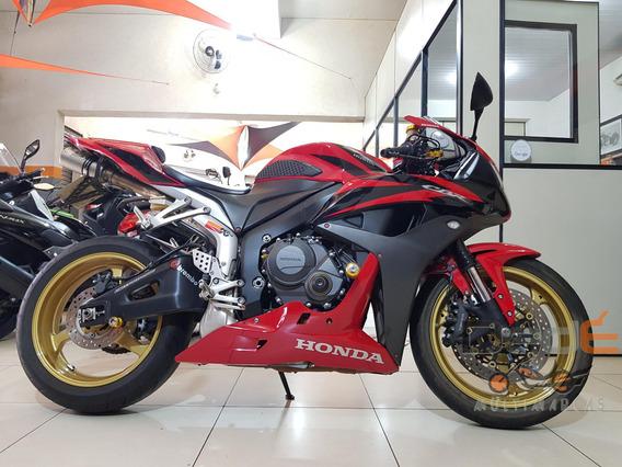 Honda Cbr 600 Rr Vermelho 2008
