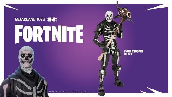 Fortnite Figuras De Ação: Skull Trooper