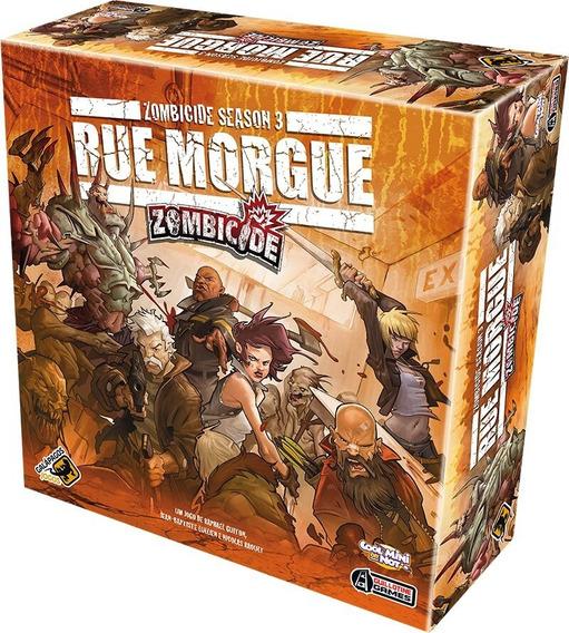 Board Game - Zombicide Rue Morgue