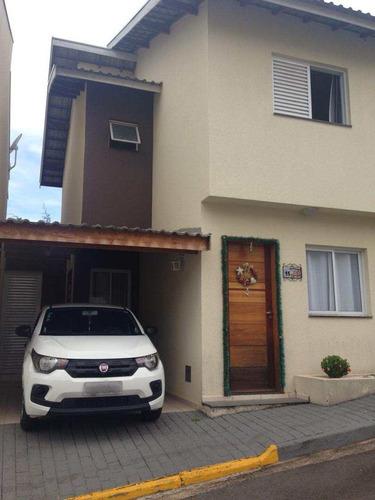 Imagem 1 de 9 de Casa De Condomínio Com 2 Dorms, Jardim Estância Brasil, Atibaia - R$ 239 Mil, Cod: 1618 - V1618