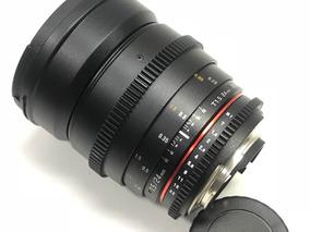 Lente Rokinon 24mm 1.5 Cine P/ Nikon A Pronta Entrega #