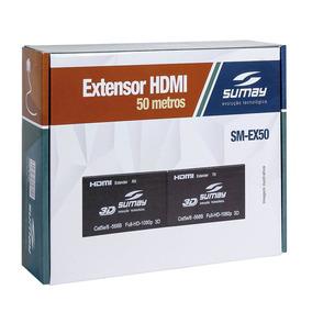 Extensor Hdmi Sumay Sm-ex50 50mt 3d 4k Hispeed Oferta P3