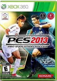 Jogo Xbox 360 Pro Evolution Soccer Pes 2013 Midia Original