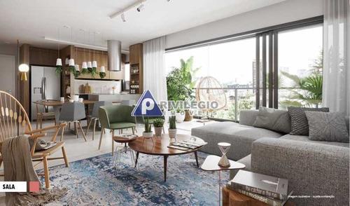 Apartamento À Venda, 3 Quartos, 3 Suítes, 1 Vaga, Botafogo - Rio De Janeiro/rj - 23518