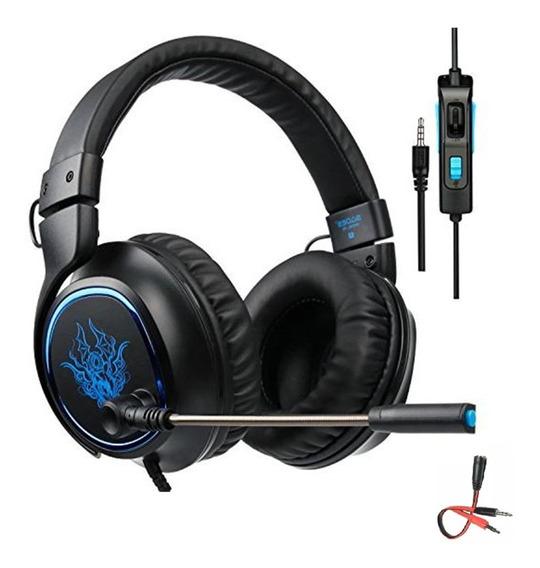 Headset Gamer 7.1 P2 Profissional Jogos Pronta Entrega R5