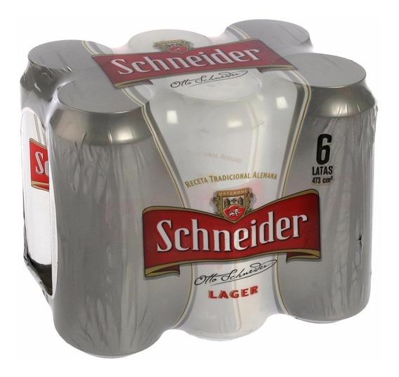 Cerveza Schneider Lata 473c Pack 6 Uds