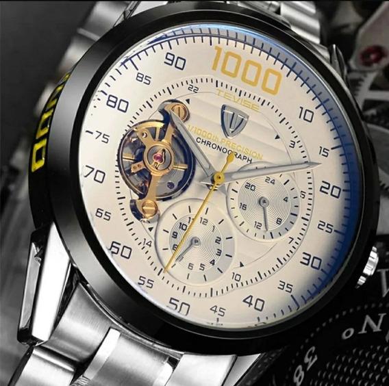 Relógio Mecânico Automático Tevise Masculino