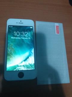 iPhone 5 16gb Protector De Pantalla Y Cable