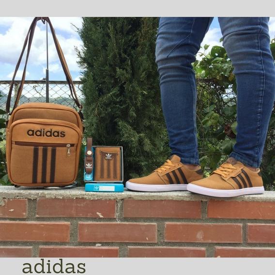 Zapatos adidas (mas Bolso Y Billetera)