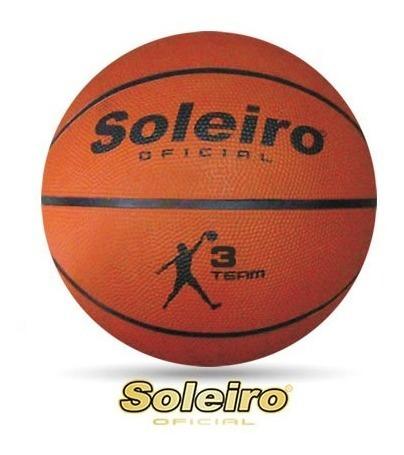 Balon Basquetbol Soleiro Bsk3 ¡envio Gratis!