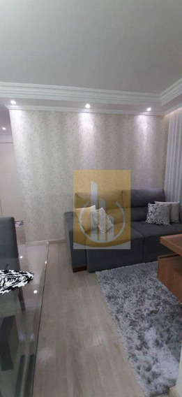 Apartamento Com 2 Dormitórios À Venda, 48 M² Por R$ 200.000 - Jardim São Miguel - Ferraz De Vasconcelos/sp - Ap0187