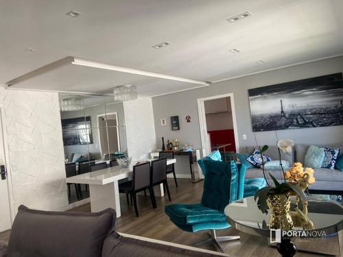 Imagem 1 de 30 de Apartamento Com 3 Dormitórios À Venda, 126 M² Por R$ 870.000,00 - Jardim Wanda - Taboão Da Serra/sp - Ap0127