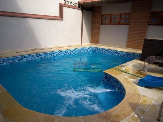 Sobrado Com 4 Dormitórios À Venda, 257 M² Por R$ 590.000 - Jardim Dos Eucaliptos - Tremembé/sp - So0601