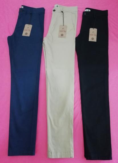 Pantalón Casual Para Hombre Hang Ten -slim Fit