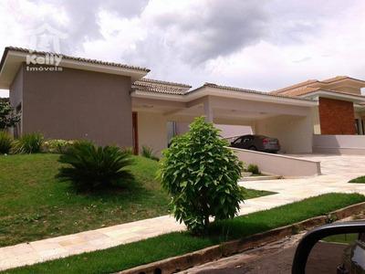 Casa Térrea Espetacular No Condomínio Gramado Parque Residencial - Ca0470