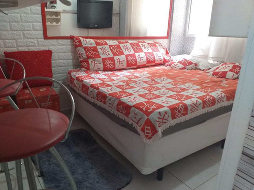 Apartamento Com 1 Dorm, Gonzaga, Santos - R$ 230 Mil, Cod: 1474 - V1474