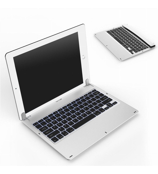Teclado Bluetooth Alumínio P/ iPad 2 E New iPad