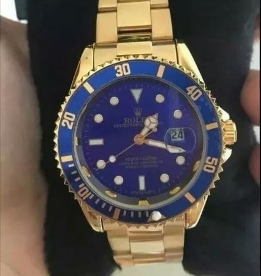 Relógio Masculino Rolex Dourado - Promoção