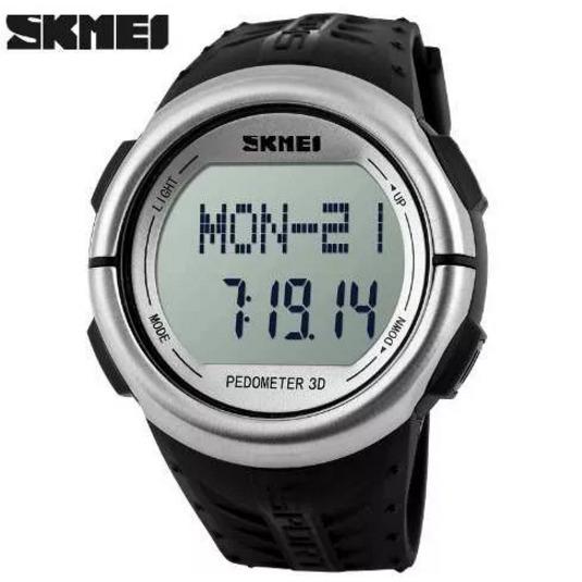 Relógio Skmei Monitor Cardíaco Digital Esportivo Pedômetro