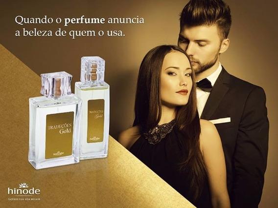 Perfume Traduções Gold, Hinode, Fragrâncias Importadas