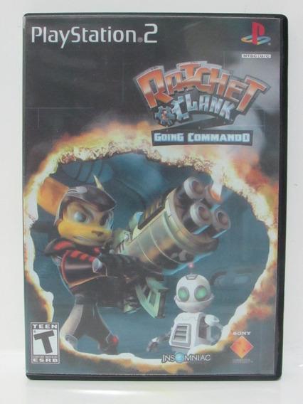 Ratchet & Clank Going Commando Game Play 2 Original + Manual