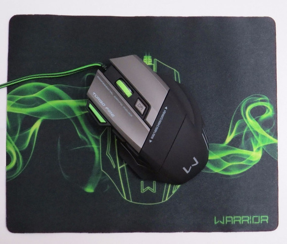 Mouse Gamer Verde Mo207 Multilaser