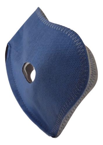 Repuesto Filtro Carbon Activado Deluxe Mascara Antipolución