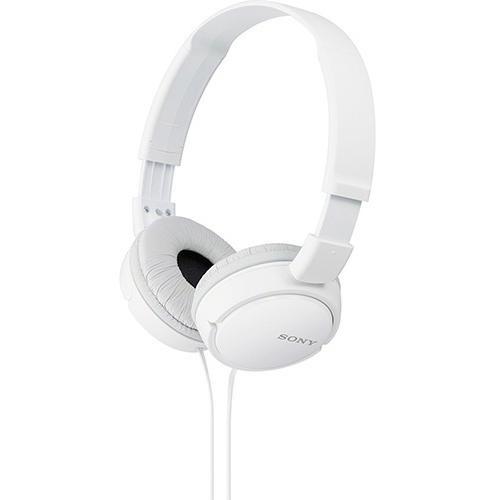 Fone Ouvido Headphone Original Sony Stereo Mdr Zx110 Branco