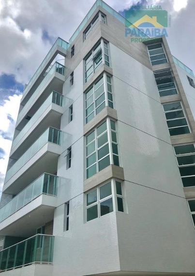 Apartamento Novo Beiramar Para Locação - Praia Do Cabo Branco - João Pessoa - Pb - Ap1306
