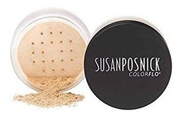 Susan Posnick Colorflo Base Suelta De Minerales (luz Neutra)