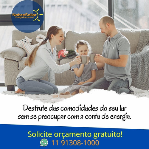 Imagem 1 de 5 de Energia Solar. Projeto, Homologação E Instalação. Economize!