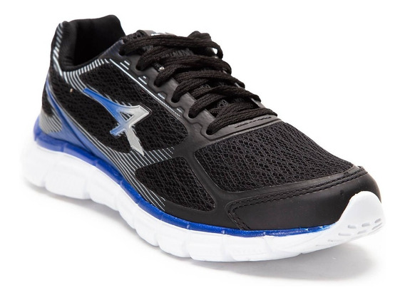 Athix Zapatillas Running Hombre Top Negro - Azul
