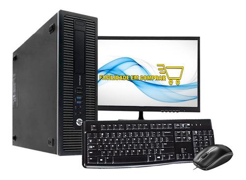 Computador Hp Intel I5 4°geração 8gb Hd 500gb Wi-fi