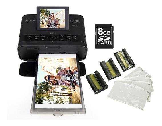 Impressora Fotográfica Canon Selphy Cp1300 Wi-fi +acessórios