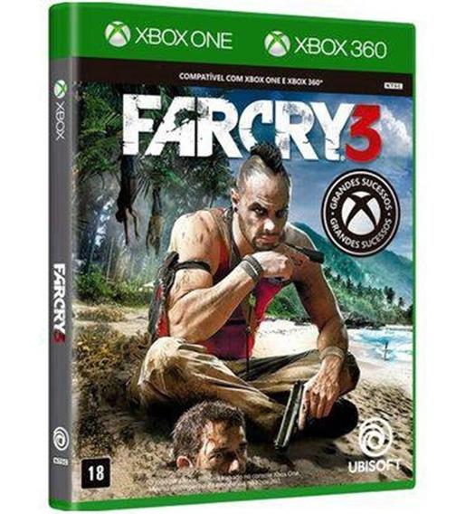 Jogo Farcry 3 Xbox One Midia Fisica Original Novo Nacional