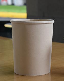 Envase Bambú + Maíz 1 Litro 100% Compostable   500 Piezas