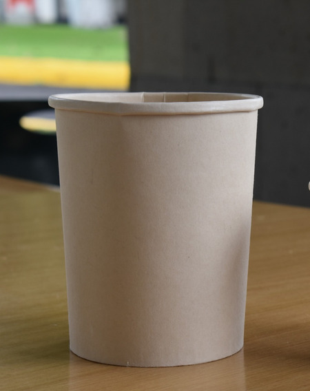 Envase Bambú + Maíz 1 Litro 100% Compostable | 500 Piezas