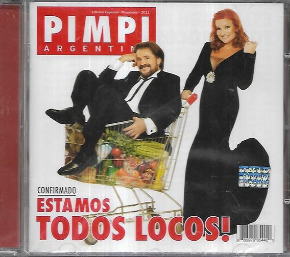 Pimpinela Album Estamos Todos Locos Sello Sony Cd Sellado