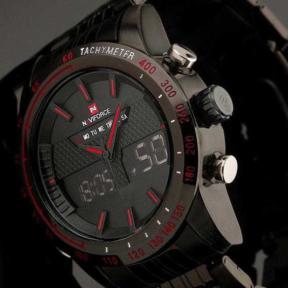 Relógio Analógico Digital Led Watch Sports Militar Relógio D
