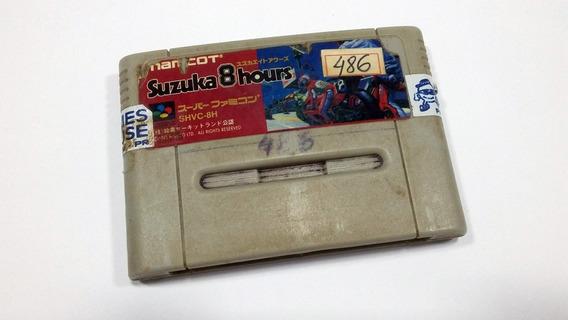 Suzuka 8 Hours - Snes - Super Nintendo - Funcionando