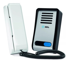 Porteiro Eletrônico F8-sn Hdl Com Monofone Interfone Hdl