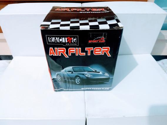 Filtro De Ar Esportivo Carros - Racing Air Filter - Cor Azul