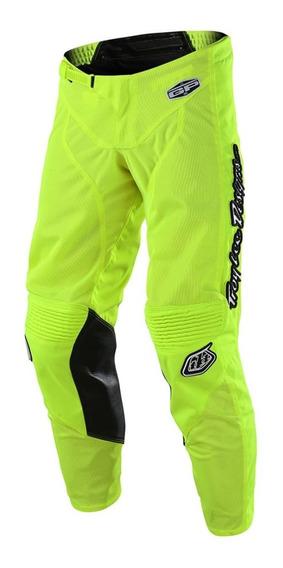 Pantalon Motocross Troy Lee Gp Air Mono Amarillo Fluor