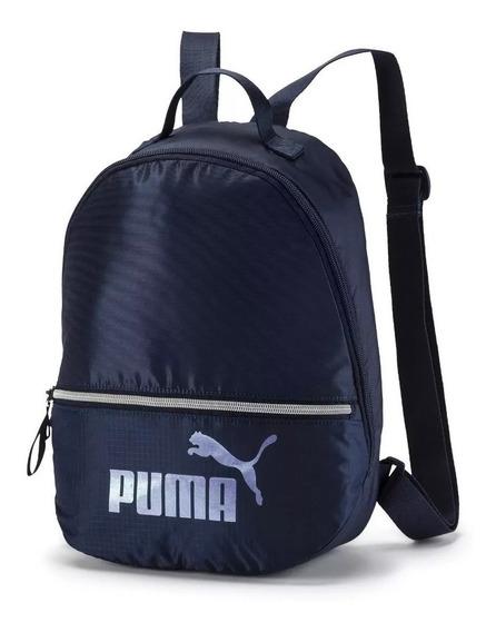 Puma Mochila Mujer Core Seasonal Archive Azul