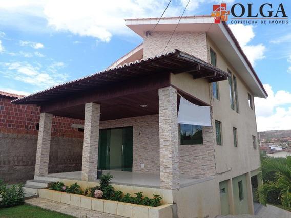 Casa Residencial Para Venda E Locação, Gravatá- Pe - Ca0268