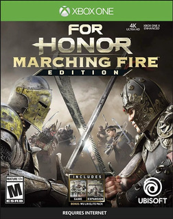 Juego For Honor Marching Fire Edition Fisico Nuevo Xbox One