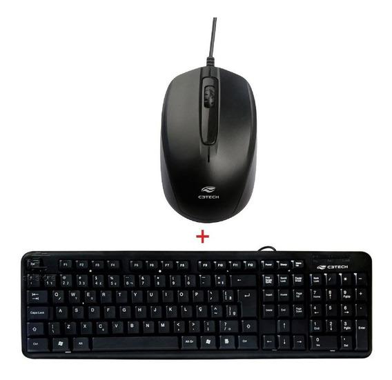 Teclado E Mouse C3 Tech Novo Promoção!